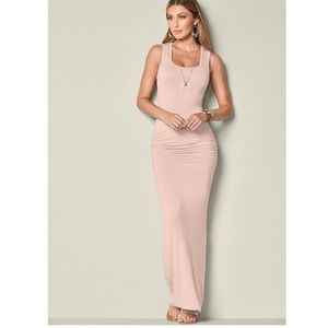 Dresses & Skirts - Ruched Tank Maxi Dress